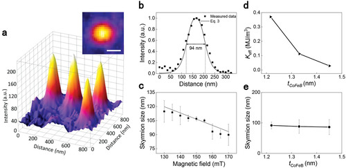 Anatomy of Skyrmionic Textures in Magnetic Multilayers